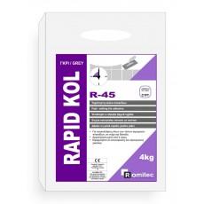 R- 45 Ταχύπηκτη ακρυλική κόλλα πλακιδίων με μηδενική ολίσθηση, ιδανική για ανακαινίσεις